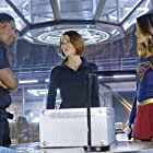 David Harewood, Chyler Leigh, and Melissa Benoist in Supergirl (2015)