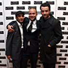 Daniel Mays and Riz Ahmed at an event for Shifty (2008)