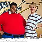 Aaron Carter and Kenan Thompson in Fat Albert (2004)