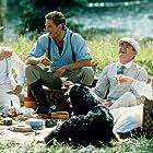 Brad Pitt, Julia Ormond, Aidan Quinn, and Henry Thomas in Legends of the Fall (1994)