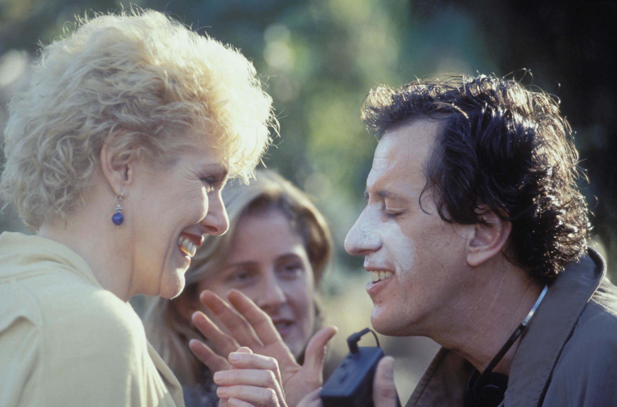Lynn Redgrave, Geoffrey Rush, and Sonia Todd in Shine (1996)