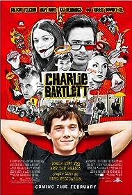 Robert Downey Jr., Hope Davis, Anton Yelchin, and Kat Dennings in Charlie Bartlett (2007)