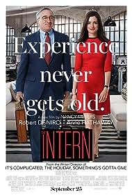 Robert De Niro and Anne Hathaway in The Intern (2015)