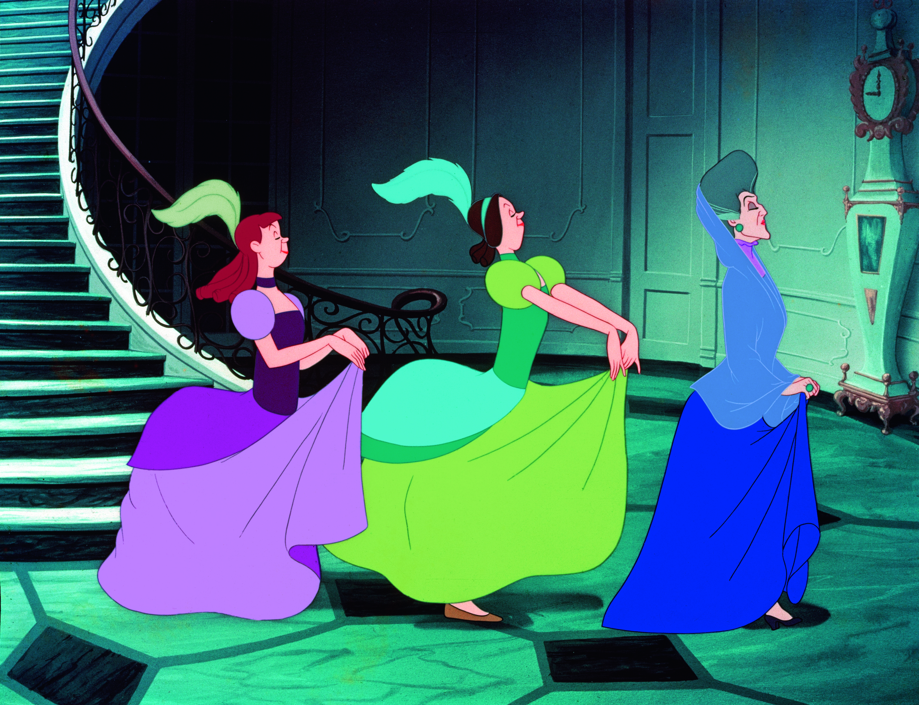 Eleanor Audley, Lucille Bliss, and Rhoda Williams in Cinderella (1950)