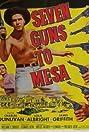 Seven Guns to Mesa (1958) Poster