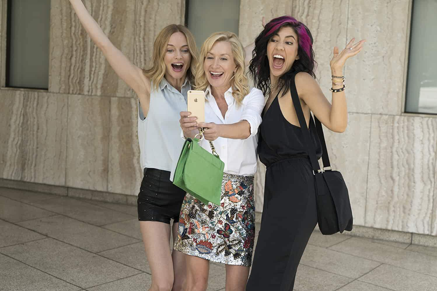 Heather Graham, Angela Kinsey, and Stephanie Beatriz in Half Magic (2018)