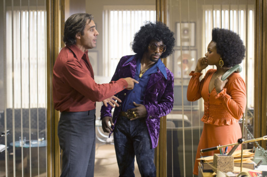 "Bobby Cannavale, Daniel J. Watts, and Susan Heyward. HBO's Vinyl S1 E4 ""The Racket"""