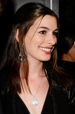 Anne Hathaway at an event for Breaking Upwards (2009)