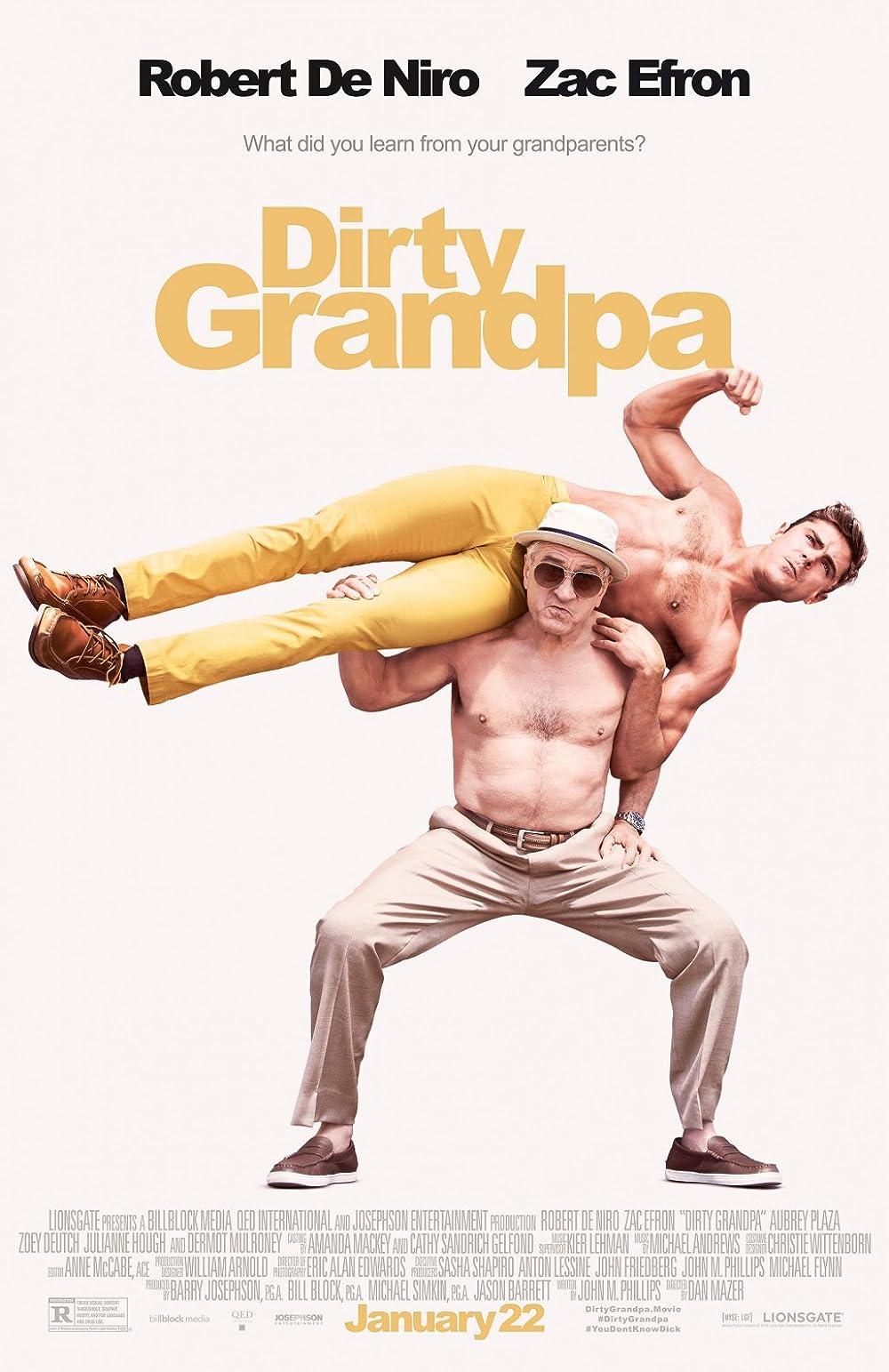 Poster film Dirty Grandpa.