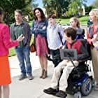 Minnie Driver, Dina Spybey-Waters, John Ross Bowie, Marin Hinkle, Kyla Kenedy, Mason Cook, and Micah Fowler in Speechless (2016)