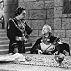 Henry Daniell and George Macready in The Bandit of Sherwood Forest (1946)