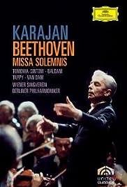 Ludwig van Beethoven: Missa solemnis op. 123 Poster
