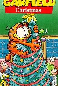 David L. Lander, Gregg Berger, Pat Harrington Jr., and Lorenzo Music in A Garfield Christmas Special (1987)