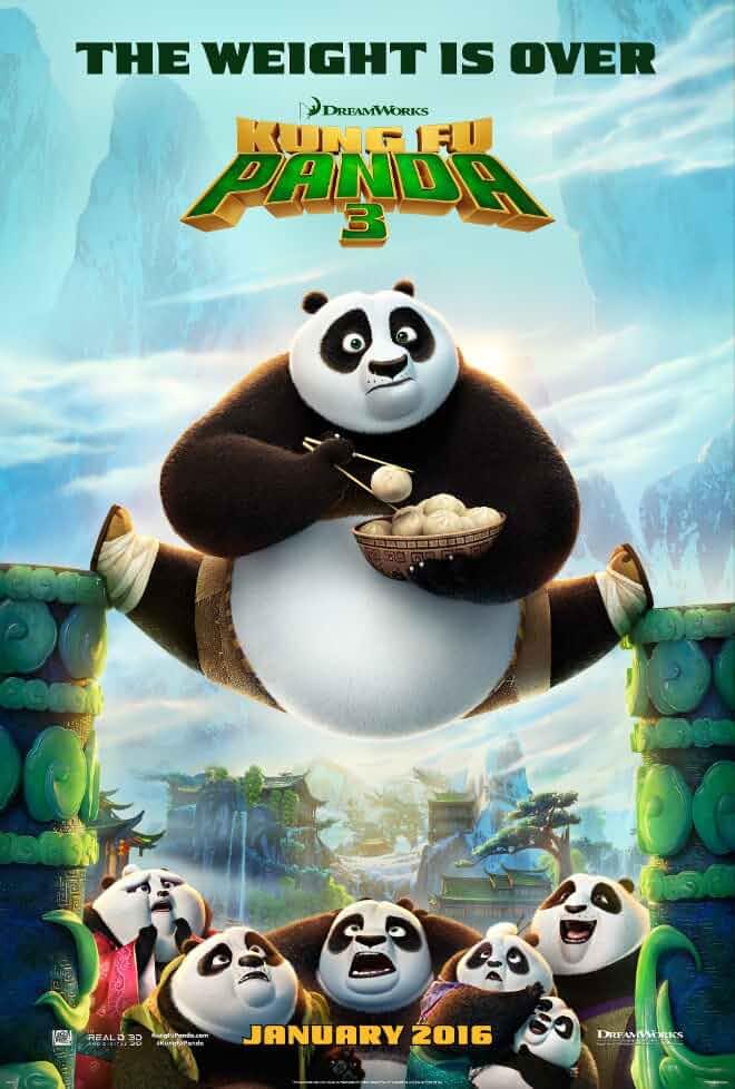 Download Kung Fu Panda 3 (2016) Dual Audio {Hindi-Eng} 480p [300MB]   720p [1GB]   1080p [2GB]