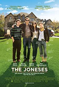 David Duchovny, Demi Moore, Amber Heard, and Benjamin Hollingsworth in The Joneses (2009)