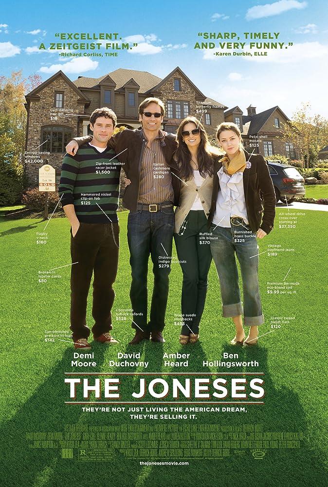 """The Joneses"" filmposter - Geëmbed van imdb.com"