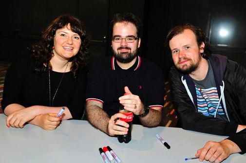 Jessica Zeylmaker, Robin de Jong and Herman Witkam
