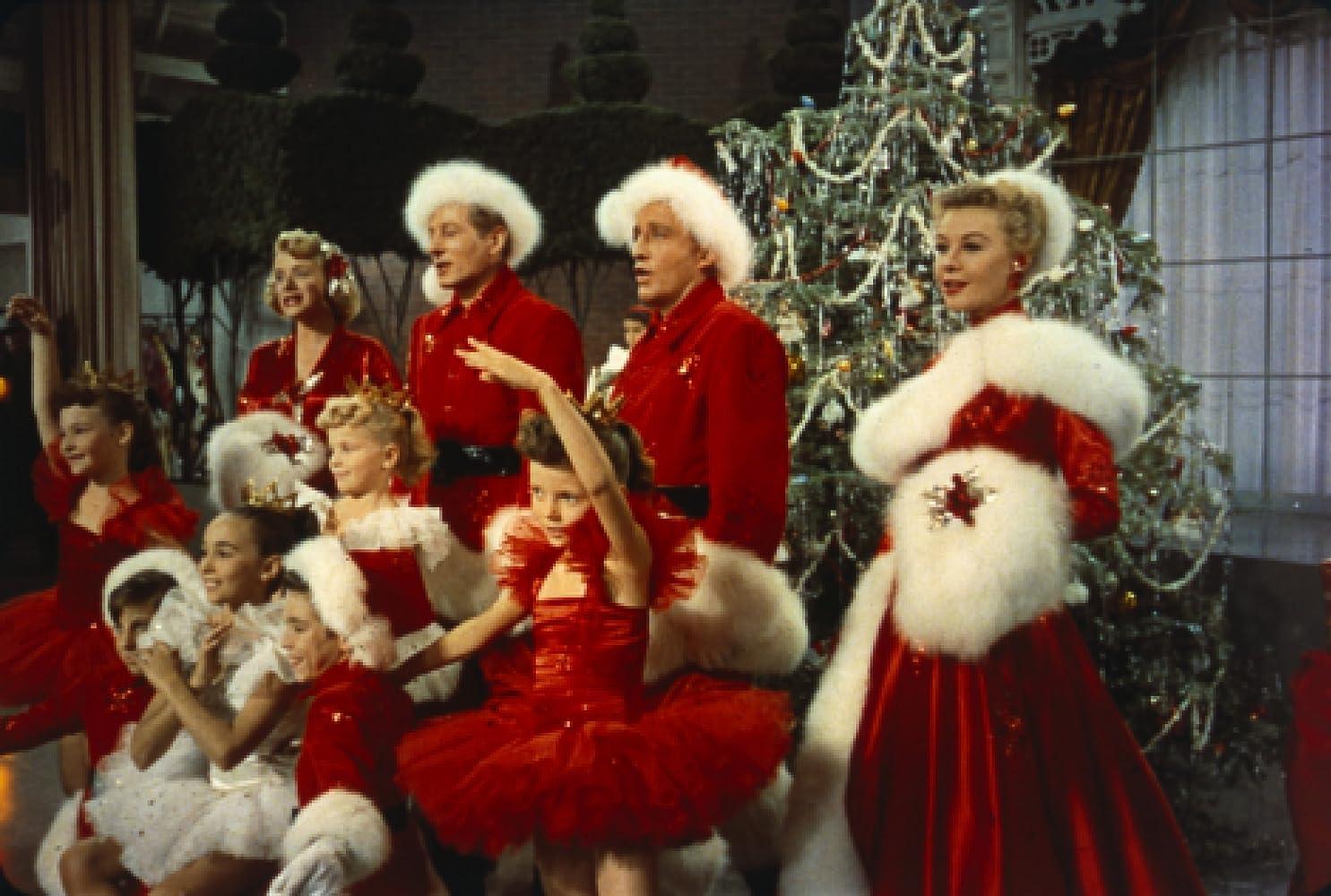 bing crosby danny kaye rosemary clooney and vera ellen in white christmas - Danny Kaye White Christmas
