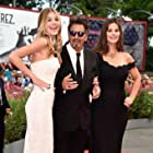 Al Pacino, Lucila Solá, and Camila Morrone at an event for Manglehorn (2014)