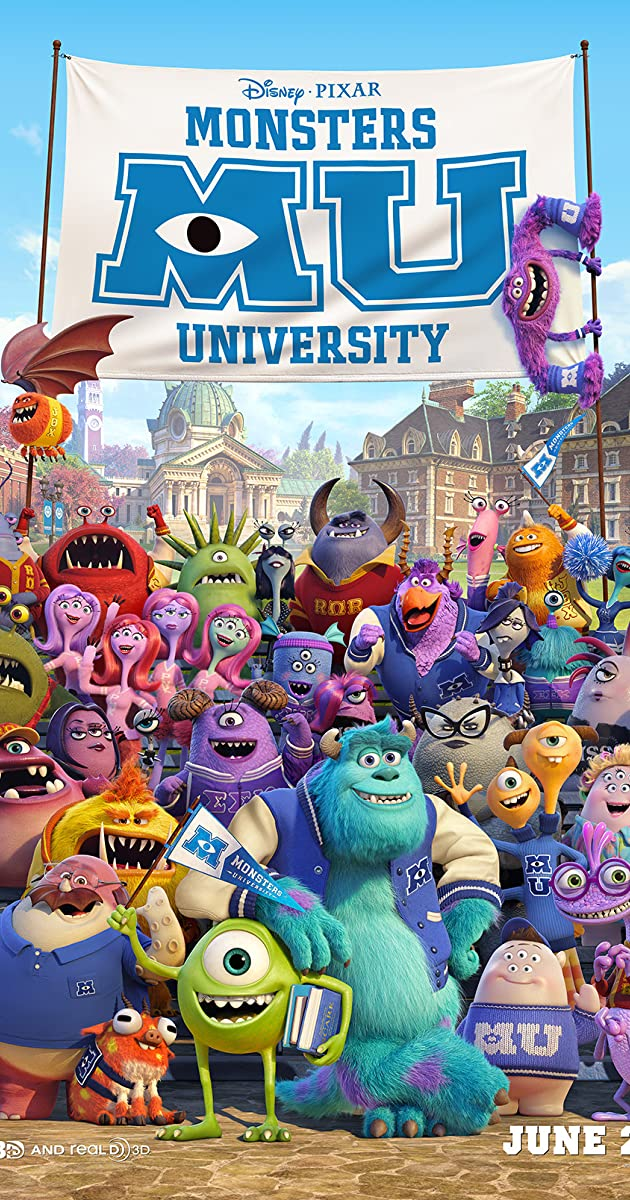Subtitle of Monsters University