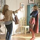 Helen Slater and Melissa Benoist in Supergirl (2015)