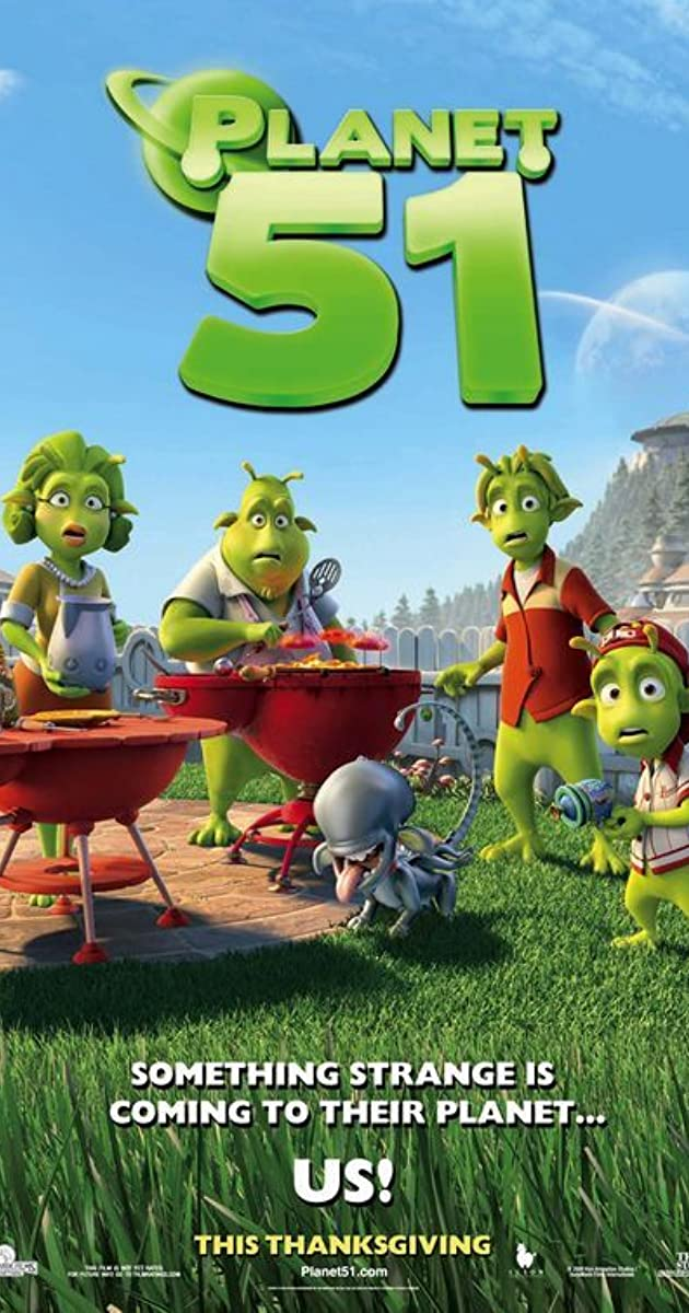 Subtitle of Planet 51