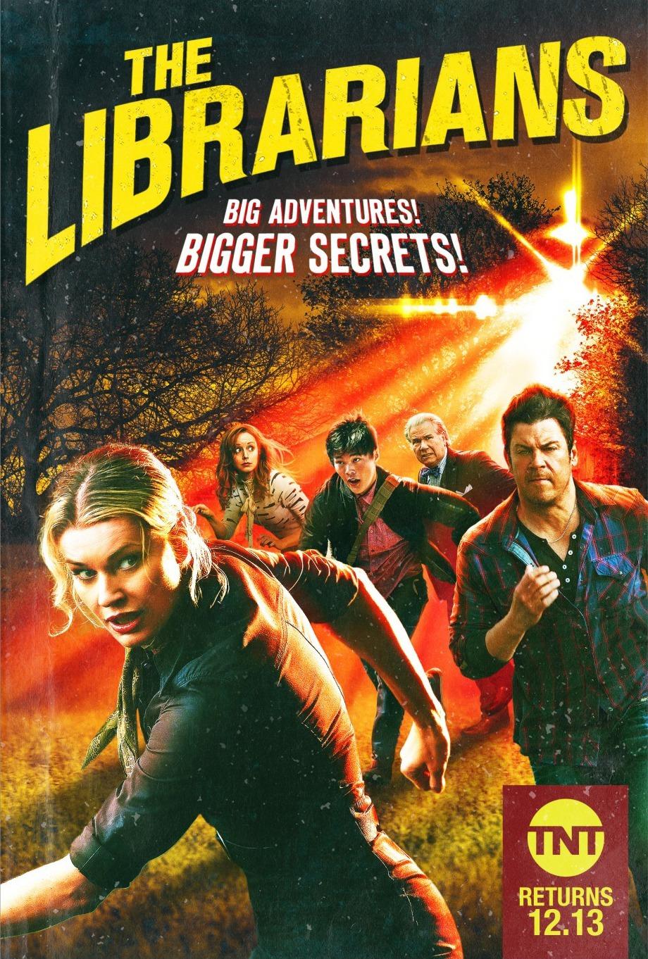 The Librarians Tv Series 20142018 Imdb