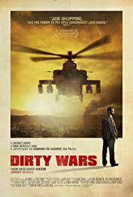 Dirty Wars (2013) Poster - Movie Forum, Cast, Reviews