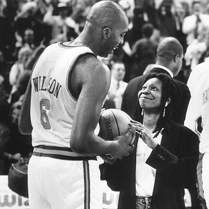 Whoopi Goldberg and John Salley in Eddie (1996)
