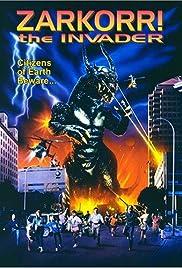 Zarkorr! The Invader Poster