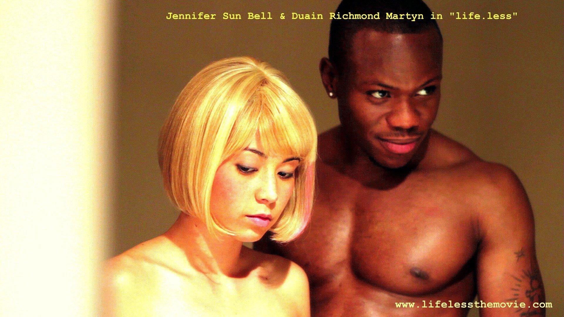 Duain Richmond and Jennifer Sun Bell in Life.less (2011)