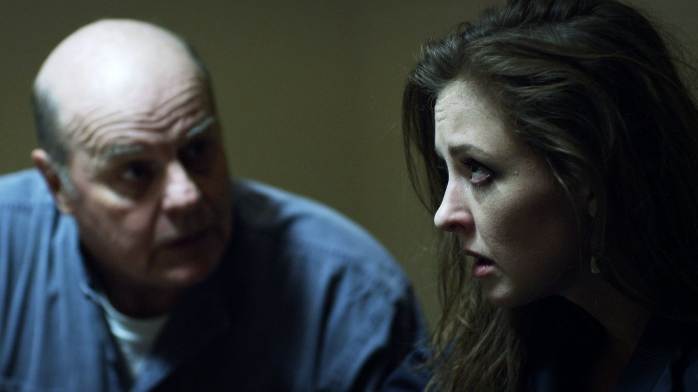 Still of Michael Ironside and Katharine Isabelle in 88.
