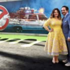 Melissa McCarthy and Ben Falcone at an event for Ghostbusters (2016)