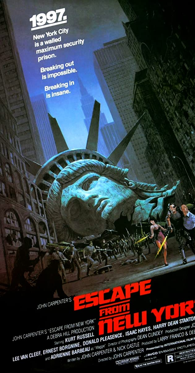 Trốn Thoát Khỏi New York - Escape from New York (1981)