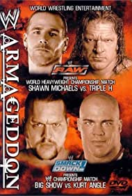 Kurt Angle, Shawn Michaels, Paul Levesque, and Paul Wight in WWE Armageddon (2002)