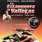 José Luis Gómez, José Luis Manzano, Emma Penella, and Maribel Verdú in La estanquera de Vallecas (1987)