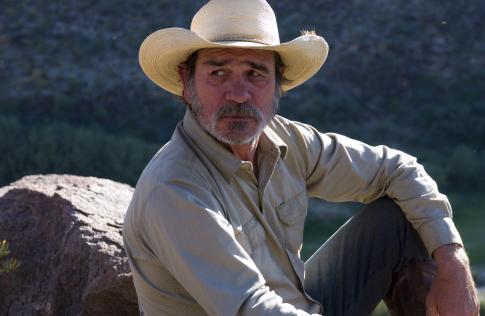 Tommy Lee Jones in The Three Burials of Melquiades Estrada (2005)