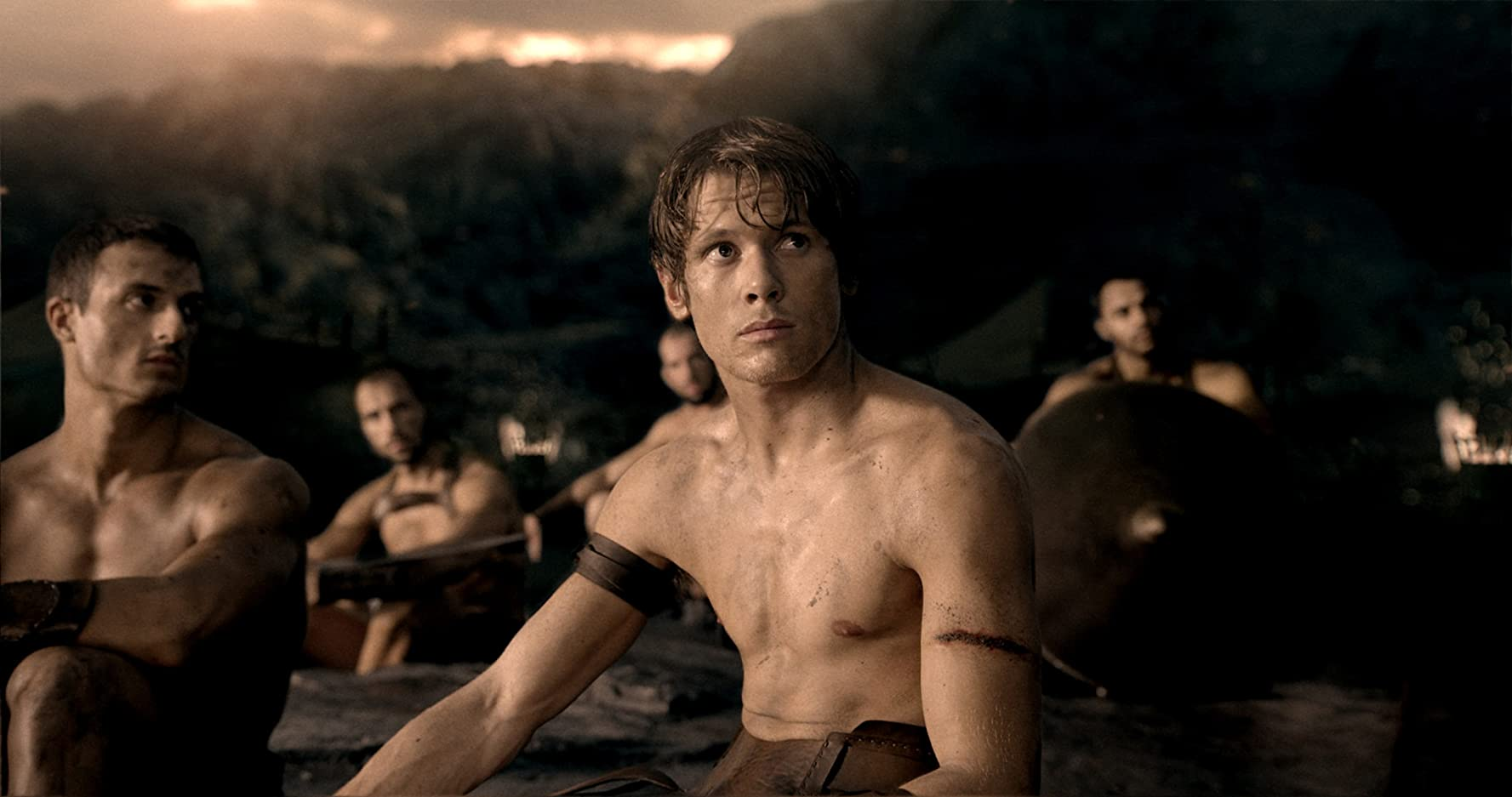 Jack O'Connell in 300: Rise of an Empire (2014)