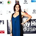 Director Rachael Meyers on the red carpet of the Beverly Hills Playhouse Film Festival.