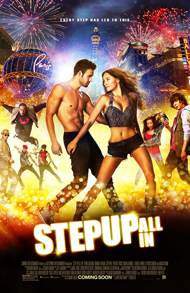 Step Up All In (2014) Dual Audio Hindi 300MB BluRay 480p x264 ESubs