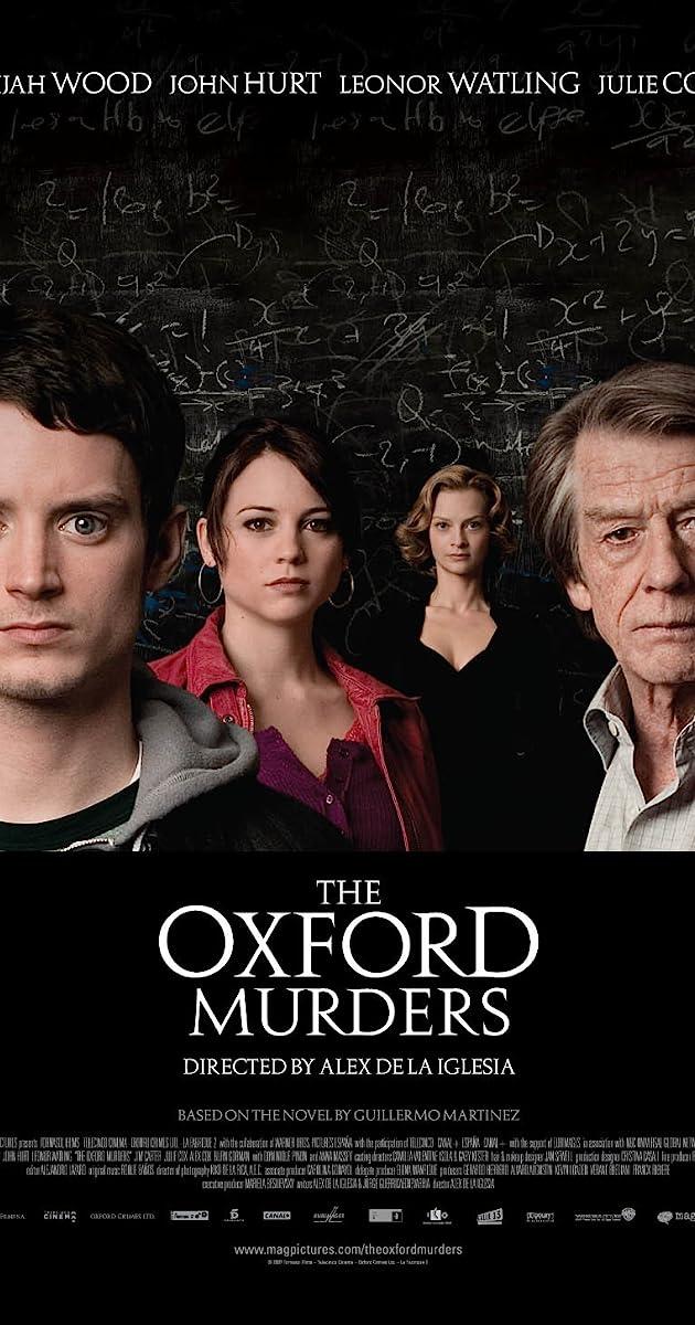 Žmogžudystės Oksforde / The Oxford Murders (2008) Online