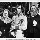 Woody Allen, Despo Diamantidou, and Zvee Scooler in Love and Death (1975)