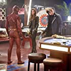 Peyton List, Wentworth Miller, and Grant Gustin in The Flash (2014)