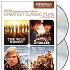 John Wayne, Ann-Margret, Robert Redford, Warren Beatty, Julie Christie, Rod Taylor, Christopher George, and Ben Johnson in The Wild Bunch (1969)