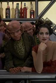 Chase Masterson, Cathy DeBuono, and David B. Levinson in Star Trek: Deep Space Nine (1993)