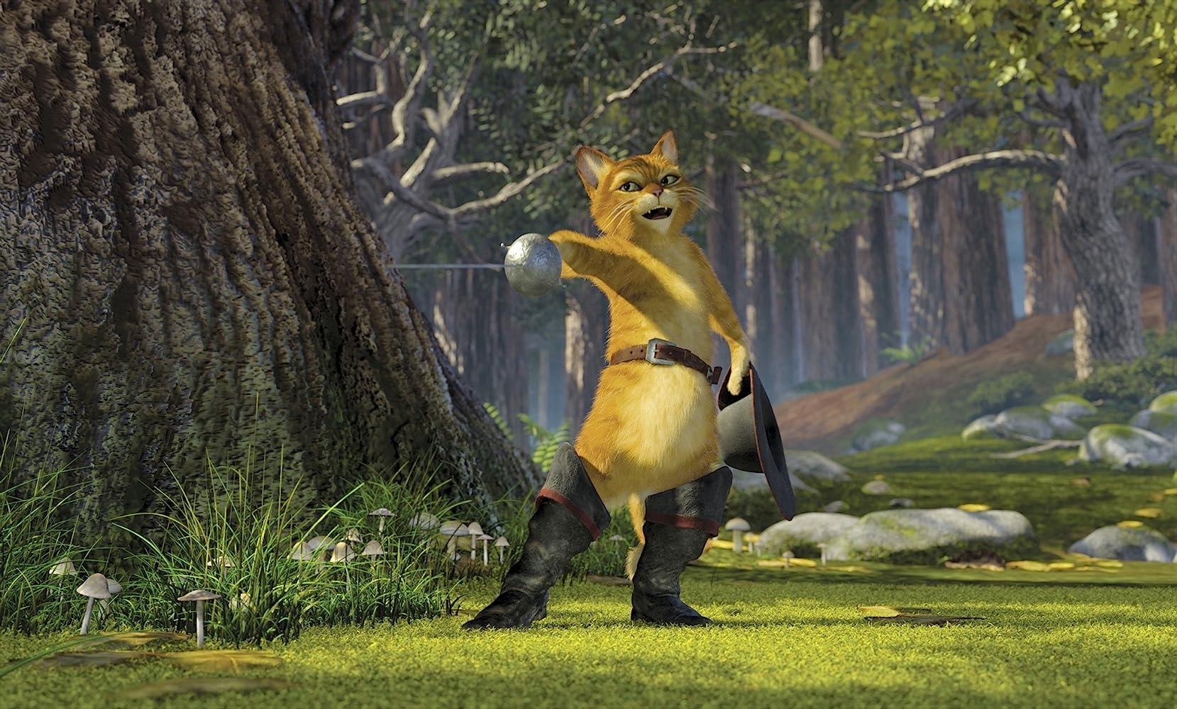 Antonio Banderas in Shrek 2 (2004)
