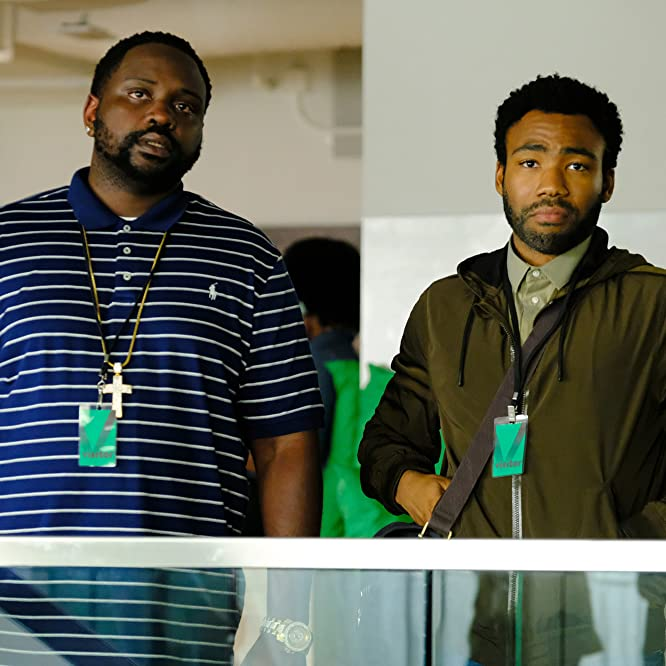 Donald Glover and Brian Tyree Henry in Atlanta (2016)