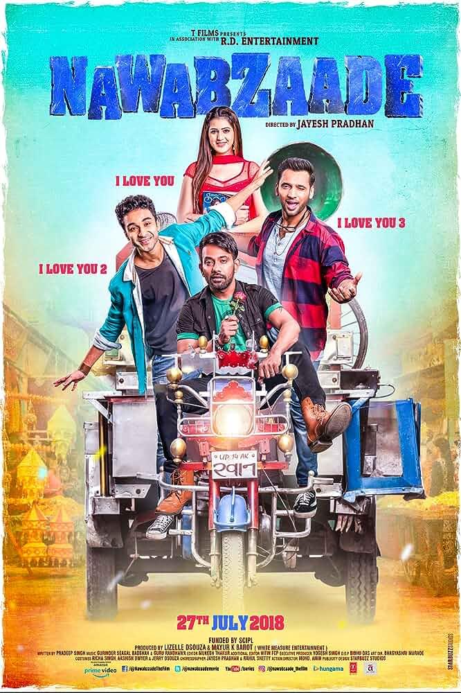 Nawabzaade (2018) 480p HDRip x264 [300MB] Full Bollywood Movie