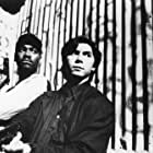 Lou Diamond Phillips and Mykelti Williamson in The First Power (1990)