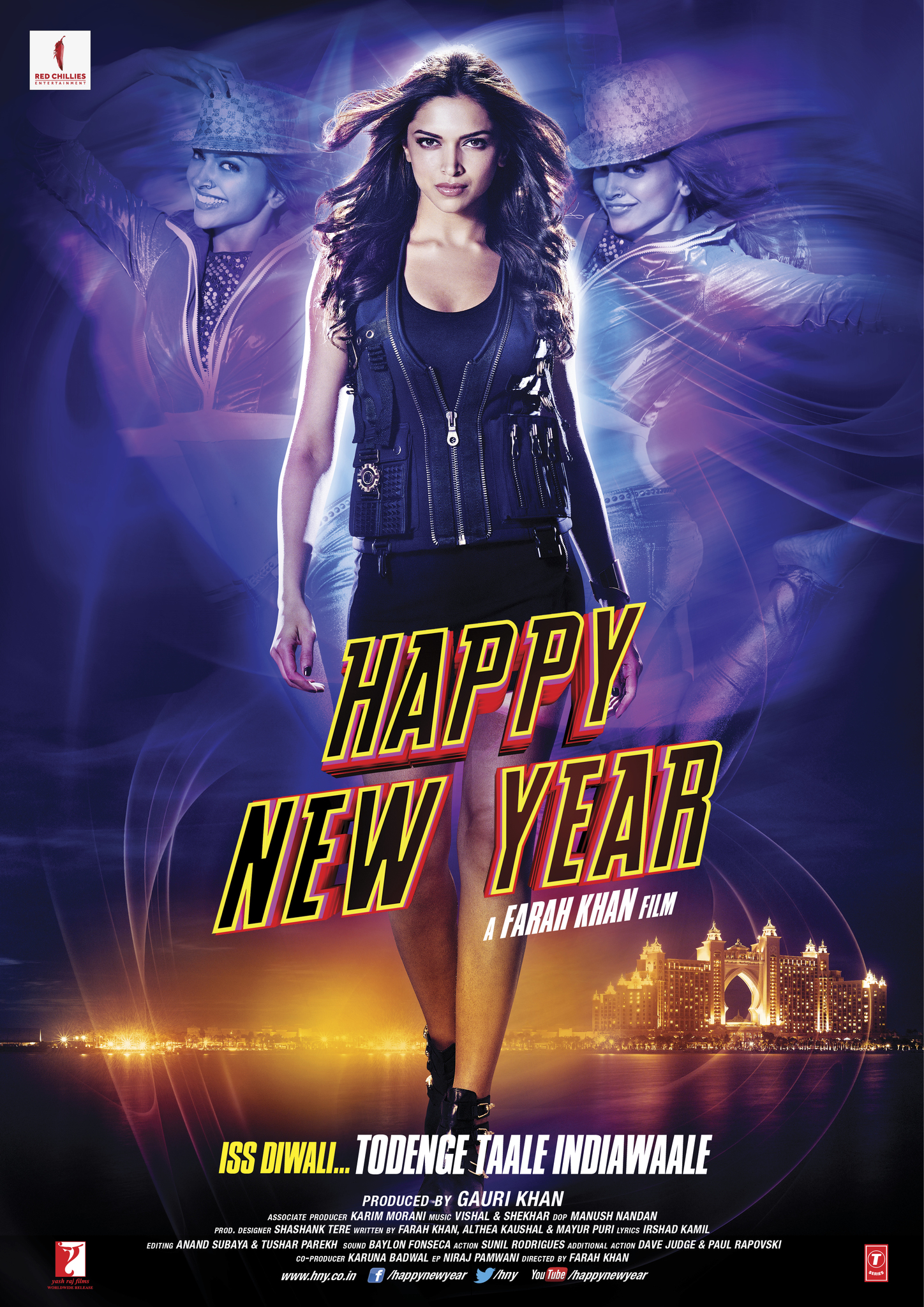 Happy New Year Movie Poster 87